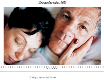 Carucci_Mom touches Father, 2000